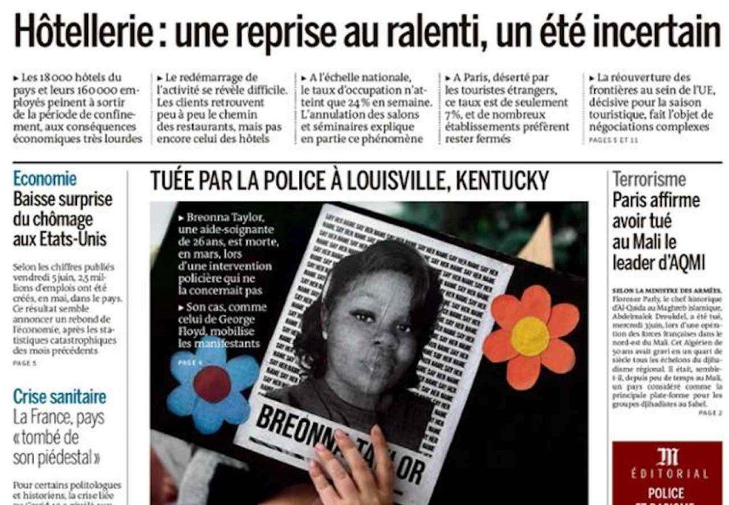 Le Monde, June 8, 2020: France kills Abdelmalek Droukdel