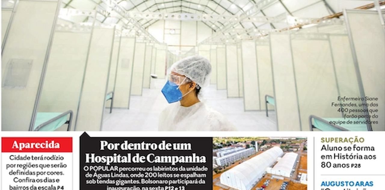 Front page of newspapers in Brazil: country renews registration of dead