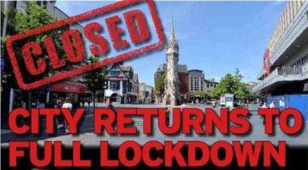 UK newspapers front page: return of lockdown