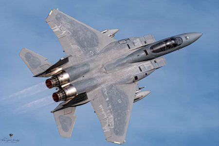 United States Air Force F-15 crashes. Pilot is wanted