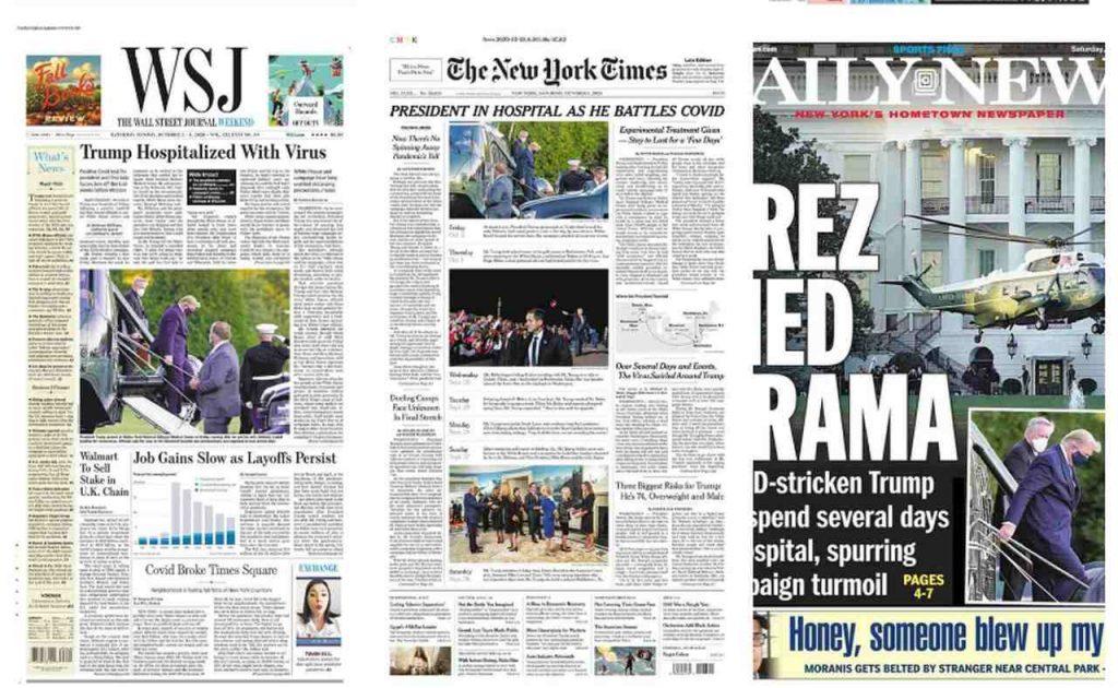 Newspapers Trump Hospitalized _Easy-Resize.com