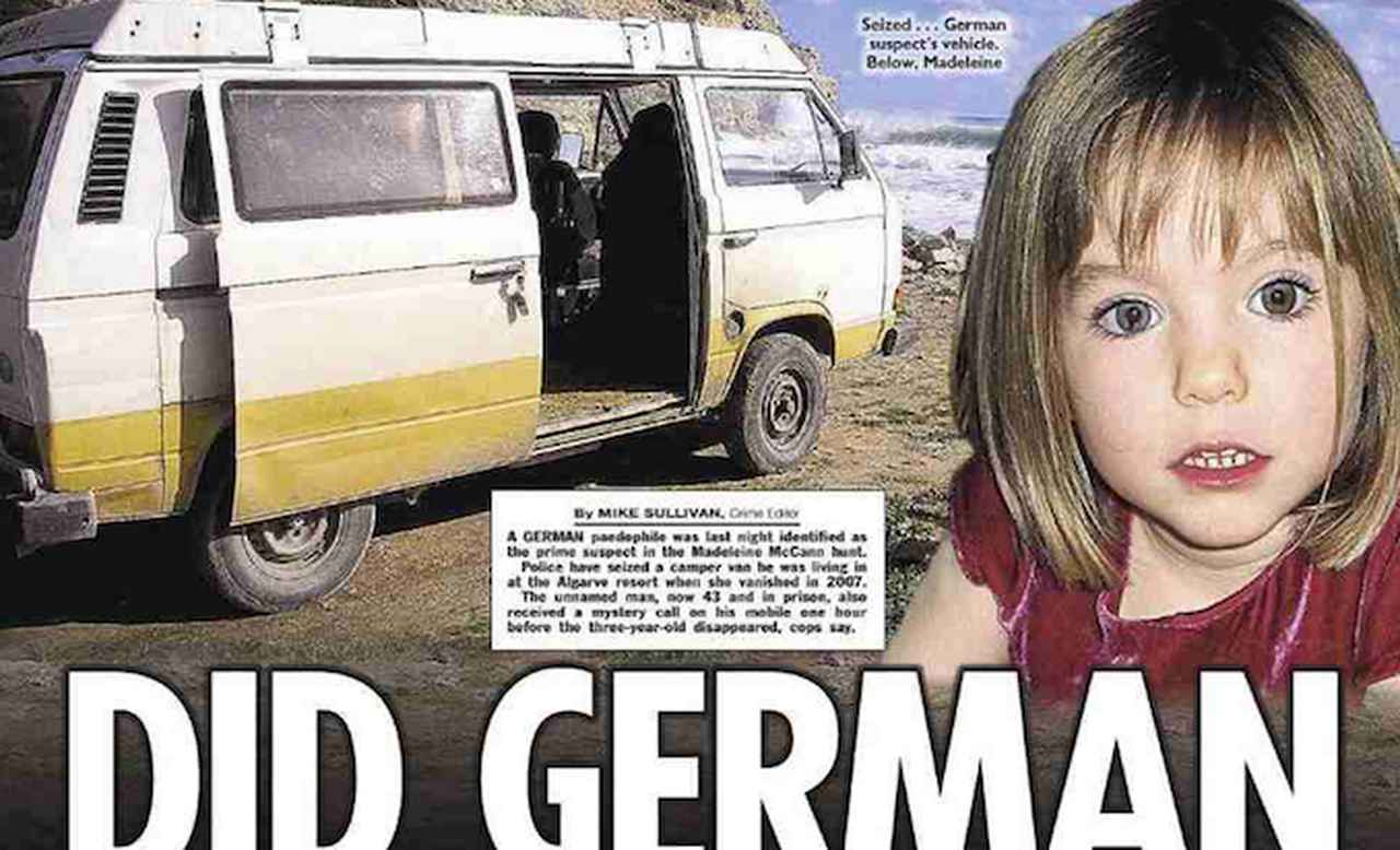 UK newspapers front page: Madeleine McCann case has new suspect