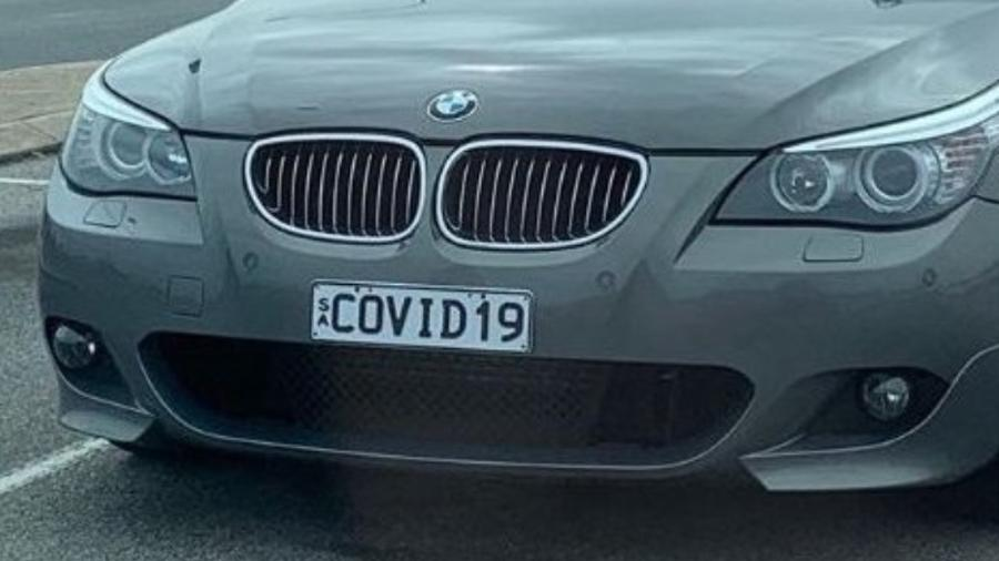 Mystery: car with COVID 19 license plate abandoned in airport parking lot