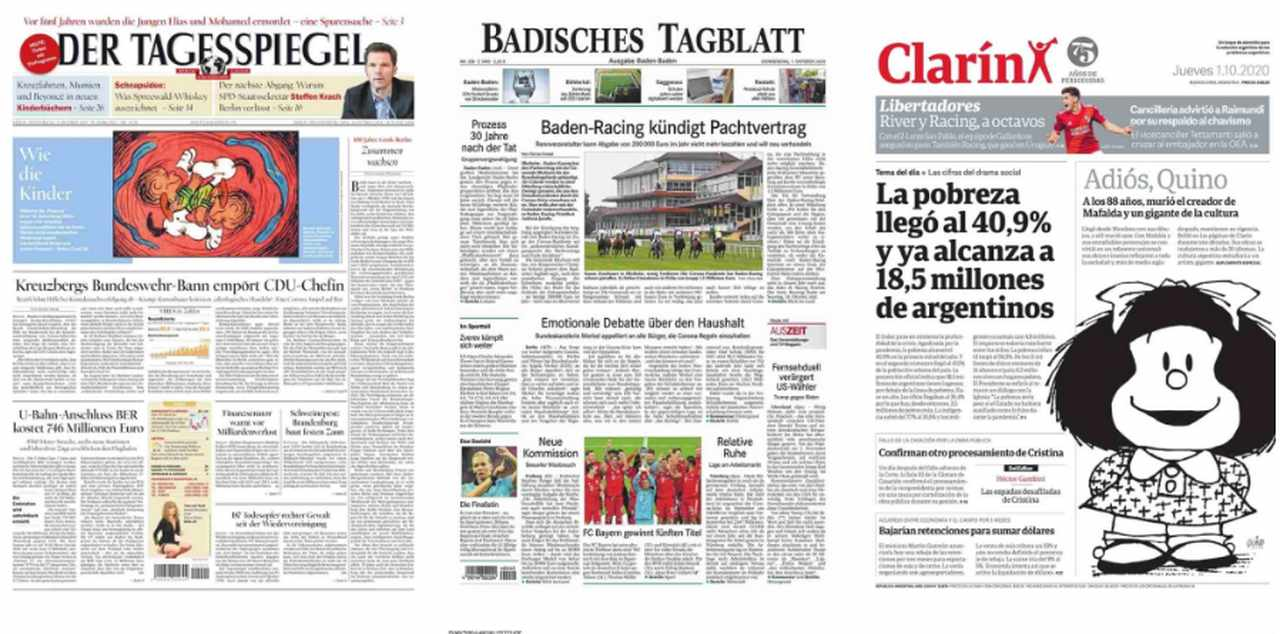 newspapers today